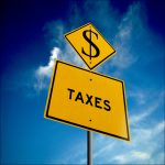Delinquent Taxes tax sign from MTREAZ article